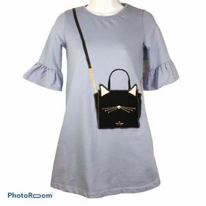 Kate Spade Cat Handbag Dress Big Girls Size 12